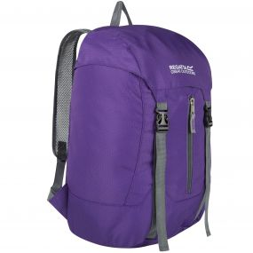 Easypack II 25 Litre Lightweight Packaway Backpack Rucksack Juniper Purple