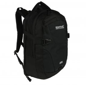 Regatta Paladen 25 Litre Laptop Backpack Rucksack Black