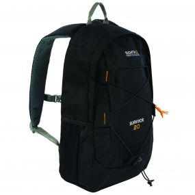Regatta Survivor III 20 Litre Backpack Rucksack Black