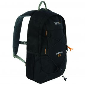 Regatta Survivor III 25 Litre Backpack Rucksack Black