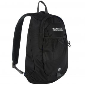 Regatta Bedabase II 15 Litre Backpack Rucksack Black