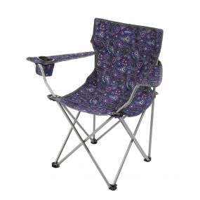 Regatta Isla Lightweight Folding Camping Festival Chair Paisley Print