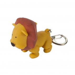 Regatta Keyring Animal Torch Lion Tan