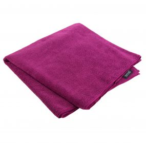Regatta Compact Large Travel Towel Dark Cerise