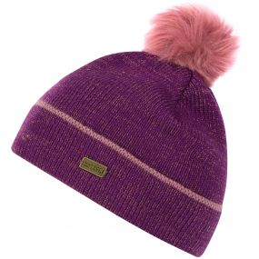Kids Gleam Knit Bobble Hat Winberry