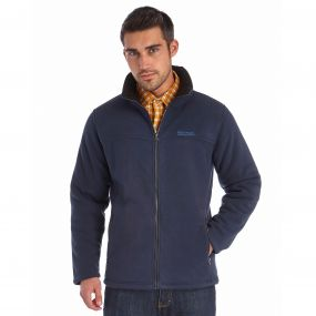 Regatta Grove Heavyweight Sherpa Backed Full Zip Fleece Navy