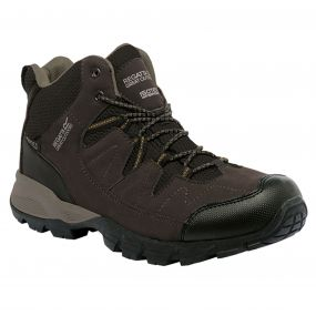 Regatta Men's Holcombe Mid Walking Boots Peat Antique