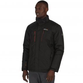 Regatta Fabens Breathable Waterproof Insulated Jacket Black