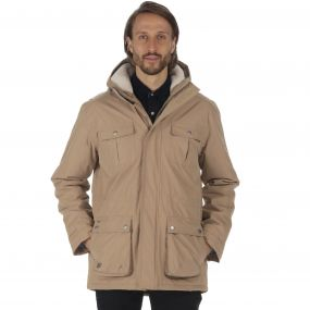 Regatta Penley Waterproof Insulated Parka Jacket Dark Camel