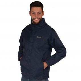 Magnitude IV Breathable Waterproof Shell Jacket with Concealed Hood Midnight
