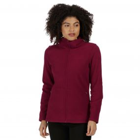 Regatta Cathie III Full Zip Anti-Pill Fleece Dark Pimento