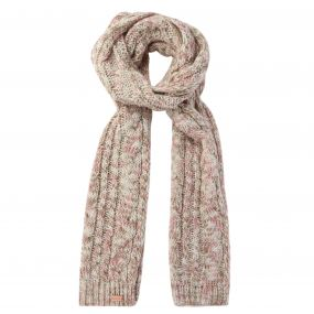 Regatta Women's Frosty Knitted Scarf Light Vanilla