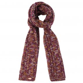 Regatta Women's Frosty Knitted Scarf Fig