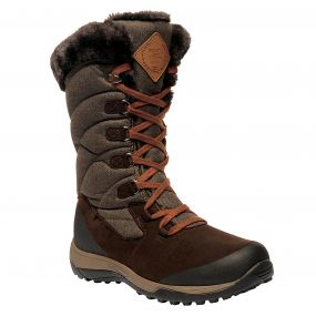 Regatta Women's Newley Casual Snow Boots Peat Treetop
