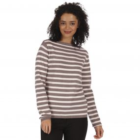 Regatta Kalindi Cotton Knit Sweater Sand
