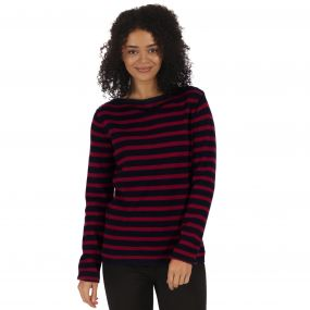 Regatta Kalindi Cotton Knit Sweater Navy
