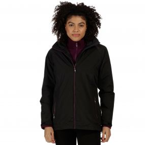 Regatta Premilla Waterproof 3-in-1 Jacket Black Fig