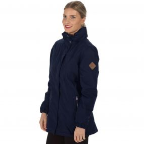 Regatta Myrtle II Waterproof Insulated Jacket Navy