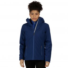 Regatta Wentwood II Breathable Waterproof 3-in-1 Stretch Jacket Twilight Dazzling Blue