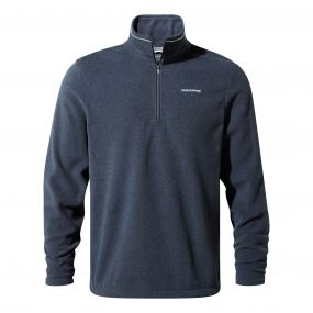 Craghoppers Corey III Half-Zip Fleece Blue Navy Marl