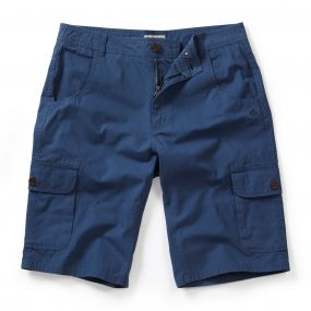 Samson Cargo Short Faded Indigo