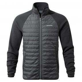 Craghoppers Sander Hybrid Jacket Black Pepper