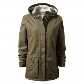 Craghoppers Steena 3in1 Jacket Dark Moss
