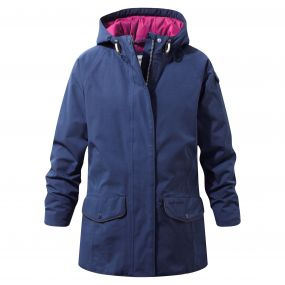 Craghoppers Girls 250 Jacket Night Blue