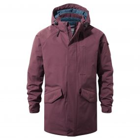 Craghoppers 250 Jacket Red Wine