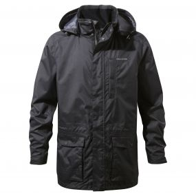 Craghoppers Kiwi Long Interactive Jacket Black