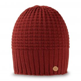 Craghoppers Brompton Beanie Dark Redwood