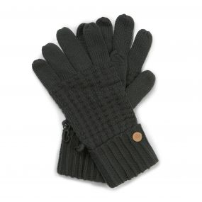 Craghoppers Brompton Gloves Charcoal