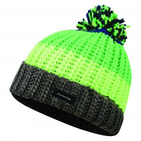 Dare2b Kids Lineation Beanie Hat Acid Green