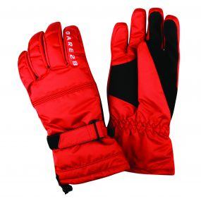 Dare2b Men's Summon II Ski Gloves Seville Red