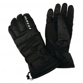 Dare2b Men's Summon II Ski Gloves Black