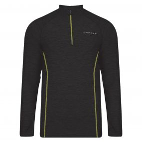 Dare2b Men's Trivial Half Zip Multisport Jersey Black