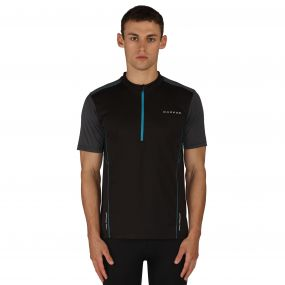 Dare2b Men's Jeopardy II Multisport Jersey Blk/ALGreyMl