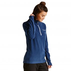 Dare2b Women's Freeze Dry II Half Zip Fleece Admiral Blue