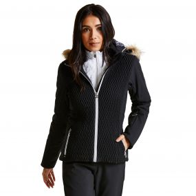 Dare2b Women's Plica Luxe Ski Jacket Black