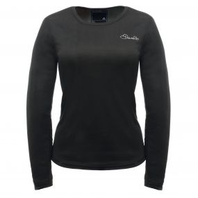 Dare2b Women's Insulate Long Sleeve Base Layer Top Black