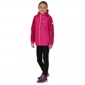Regatta Kids Luca IV Waterproof 3-in-1 Jacket Duchess Persian Red