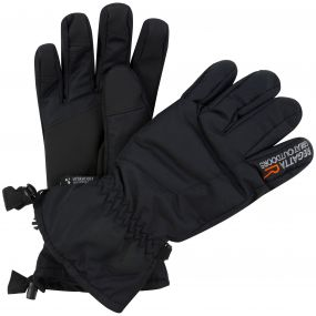 Regatta Men's Transition Waterproof Gloves Black