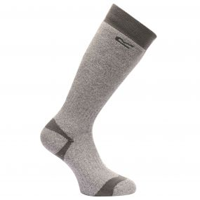 Regatta Men's Wellington Socks Seal Grey