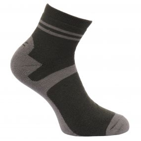 Regatta Men's 3 Pack Lifestyle Socks Raven-Bayleaf-Navy