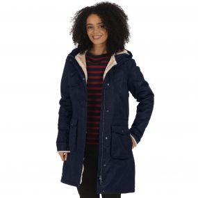 Regatta Roanstar II Breathable Waterproof Insulated Parka Jacket Navy