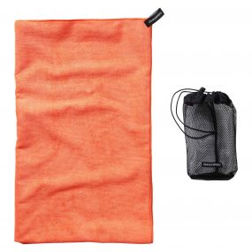 Craghoppers Microfibre Towel  Extra Large Orange