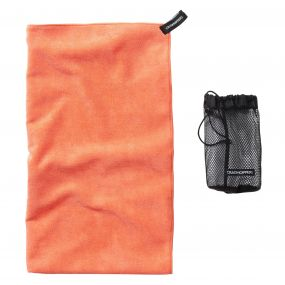 Craghoppers Microfibre Towel  Large Orange