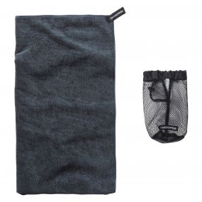 Craghoppers Microfibre Towel  Large Charcoal