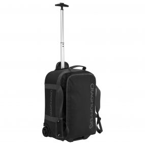 Craghoppers 38 Litre Shorthaul Luggage Bag Black / Quarry Grey