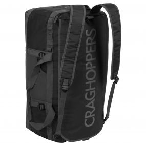 Craghoppers 70 Litre Holdall Bag Black / Quarry Grey
